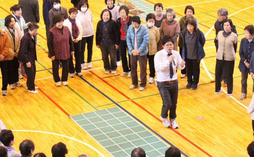 関川村において「介護予防講演会」が開催されました