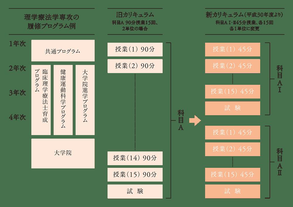 履修プログラムの例