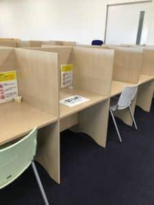 図書館の学習席・PC席が利用できるようになりました!