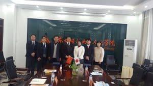 中国・東北師範大学人文学院と日中共通教育プロジェクトのための協定を締結しました